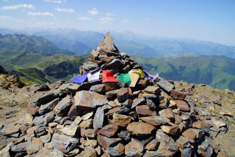 Le Pic de Montaigu Pyrénée